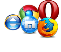 support all web browser