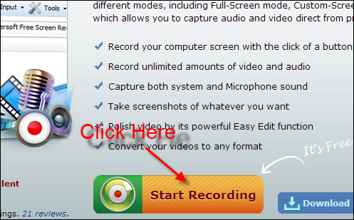 online webcam video recorder
