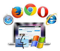 compatible with all web browsers