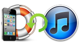 recover iTunes backup file