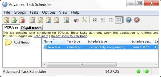 advanced scheduler