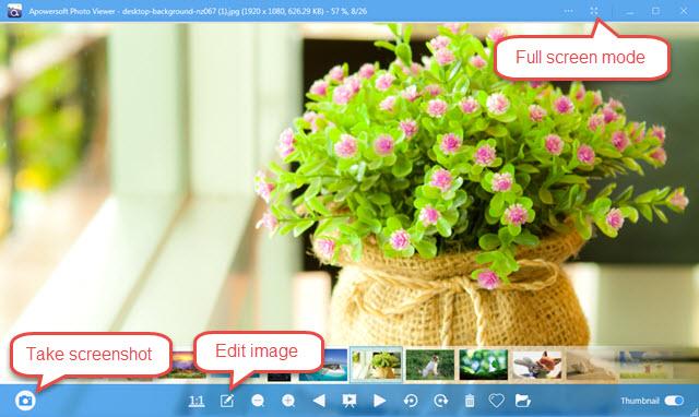 trình xem ảnh cho Windows 10